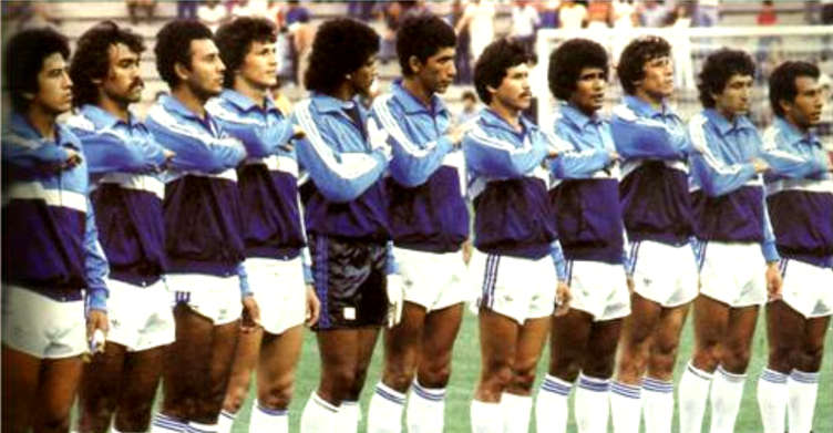 El Salvador - Mondiale 1982