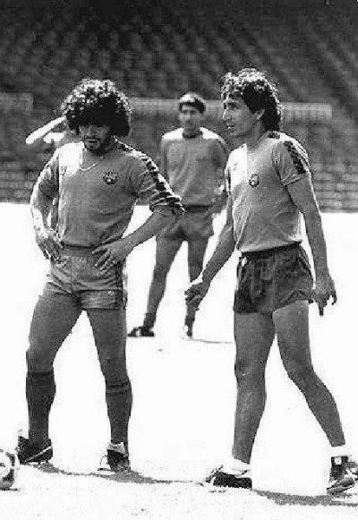 Magico Gonzalez e Maradona